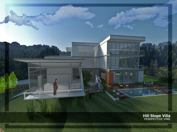 Image Hill Slope Villa