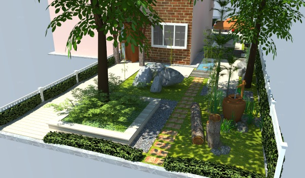 Image Front Yard and driveway (2)