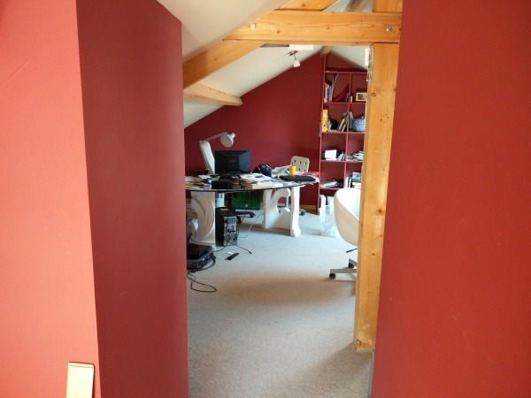 Image from room one to two: ...