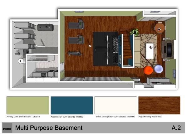 Image 3D Floor Plan &amp...