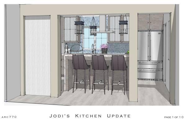 Image Jodi's Updated Kitchen