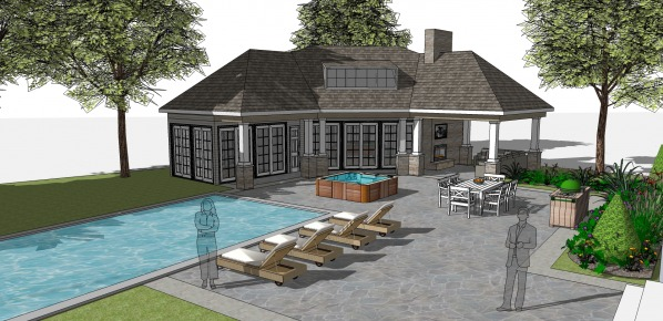 Image Craftsman pool house a... (1)