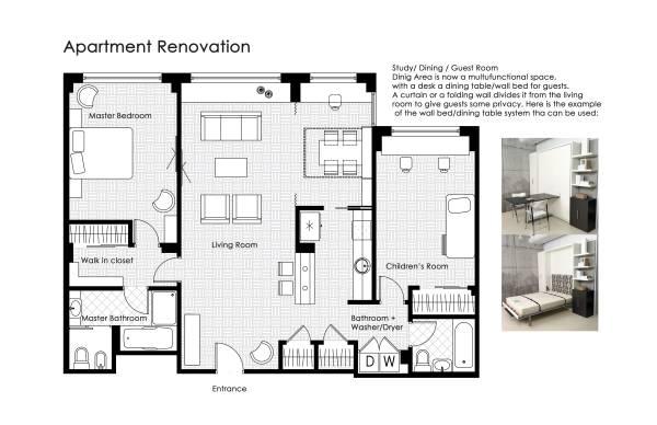 Proposed Floor Plan, 1...