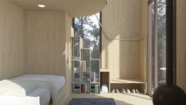 interior view towards ...