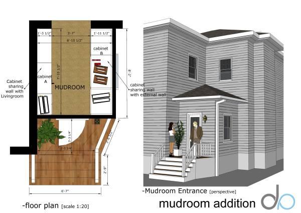 Image mud room addition