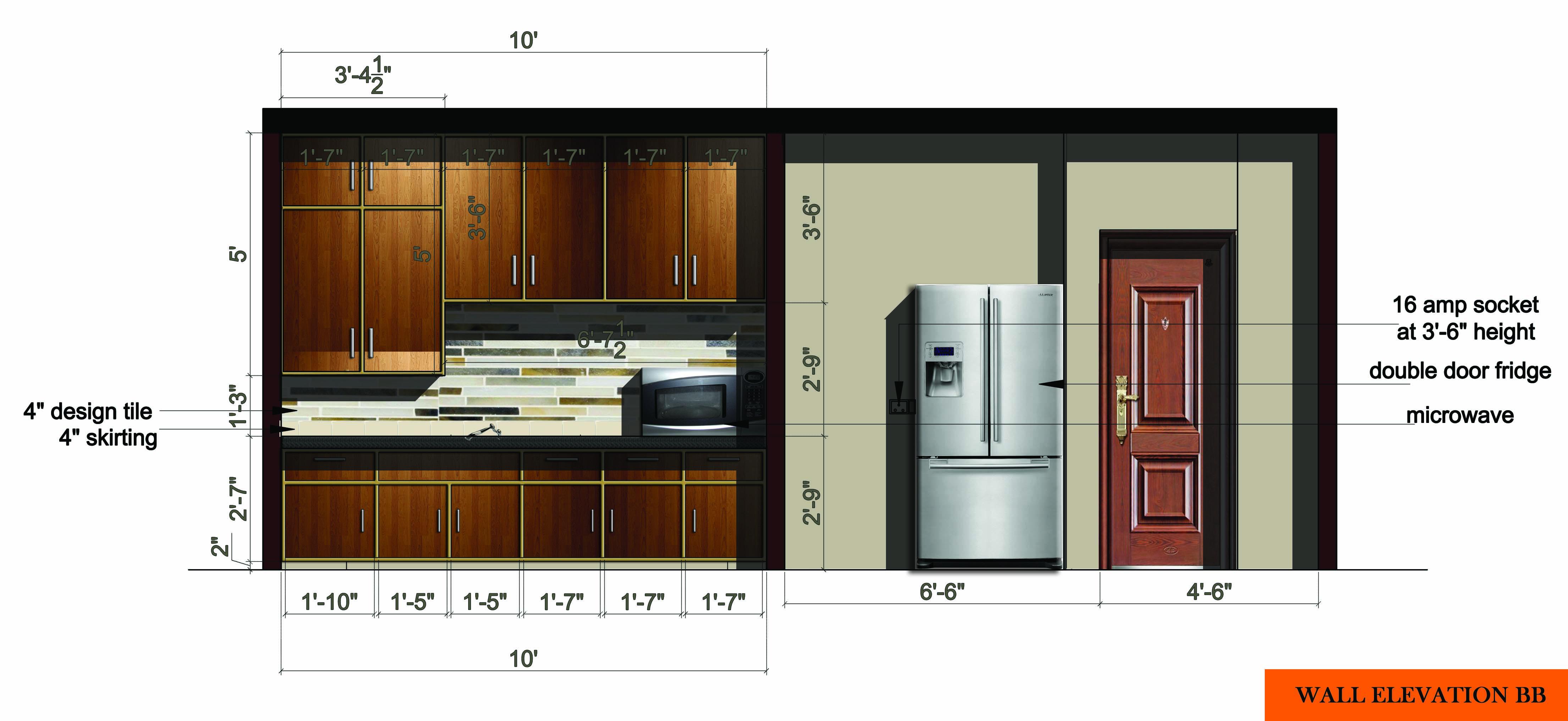 Wood River Il Elevation : Kitchen design project designed by elements studio