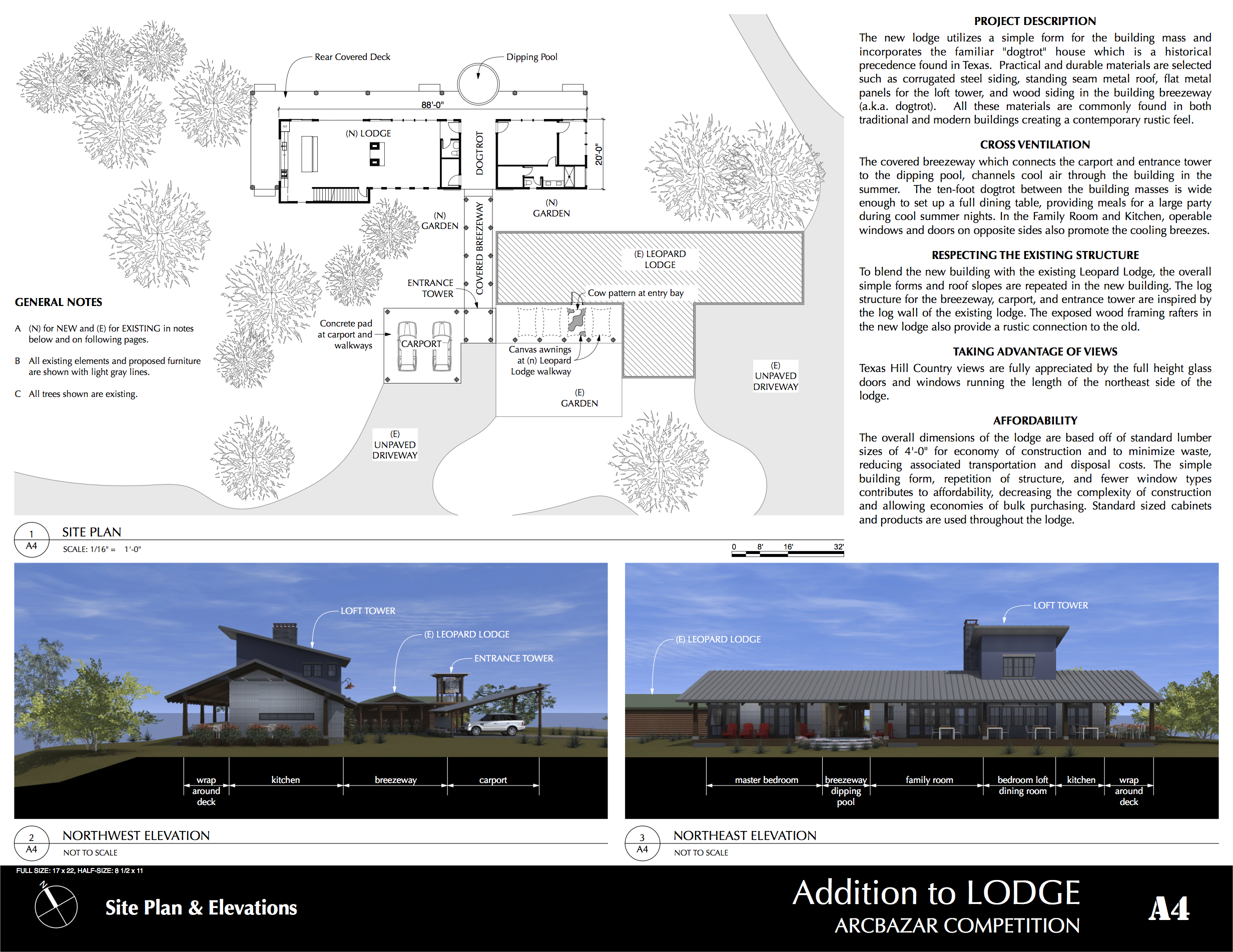 Additions Plans Project Designed By Lawrence Martin