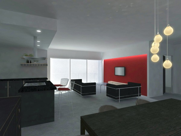 Image Living area from dinning
