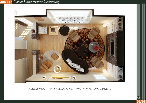Image Family Room Interior D... (2)