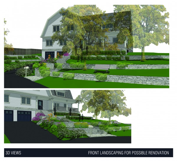 Image Front landscaping for ... (1)
