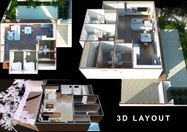 Image 3D layout