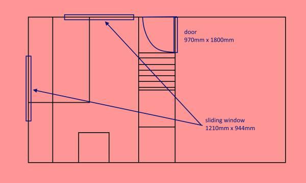Image groundfloor window size
