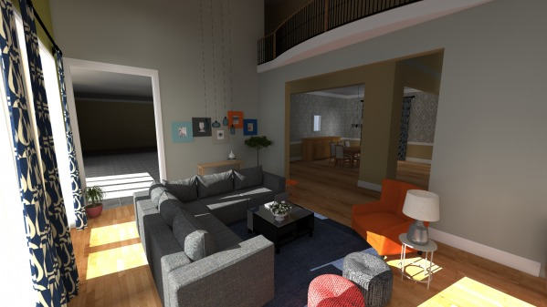 Image Formal Living Room Bec...