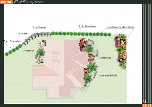 Image Plant Privacy fence (2)