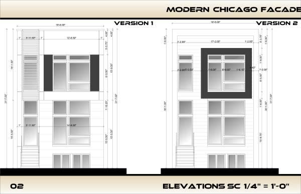 Image Modern Chicago Facade