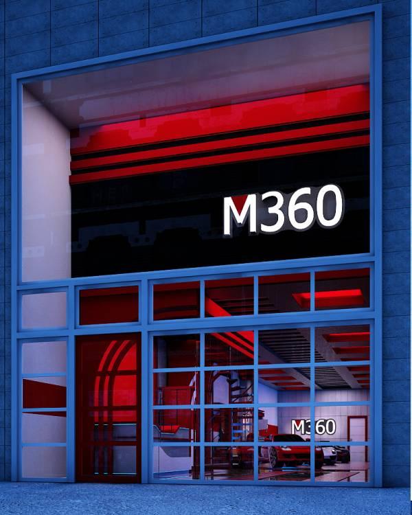 Image M360 Car Shop Design
