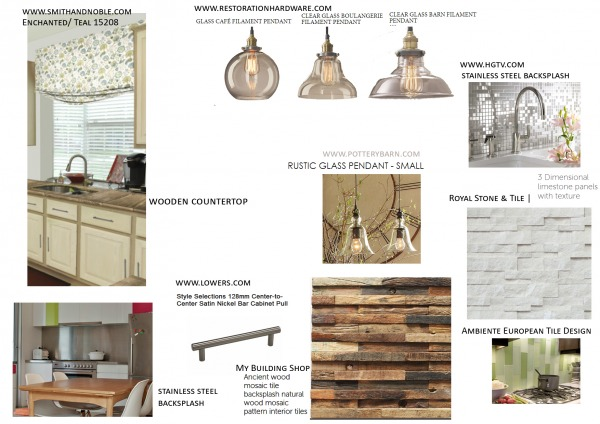 Image objects for kitchen