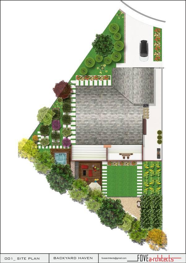 Image Main plan. Vegetation,...