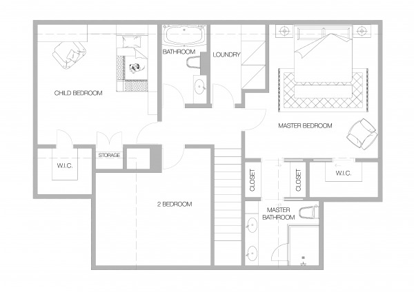 Image 2nd floor bungalow add...