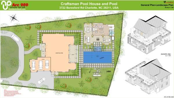 Image Craftsman pool house a... (1)