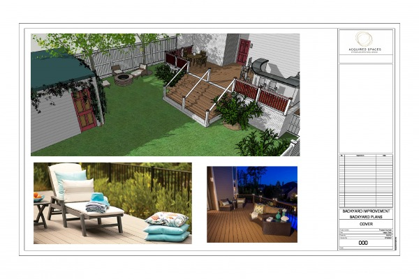 Image OVERVIEW OF NEW YARD W...