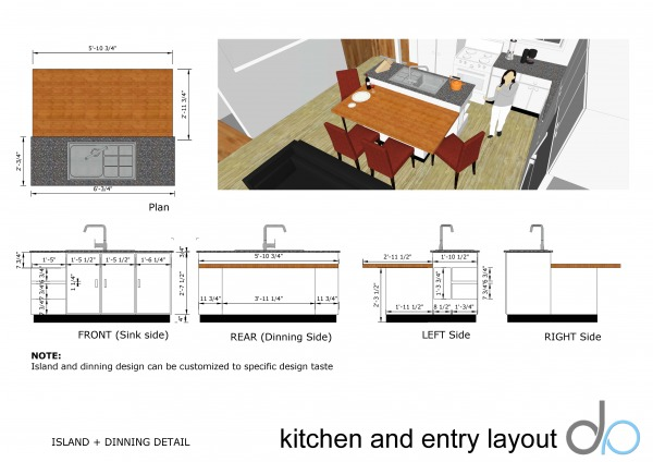 Anonymous Kitchen And Entry Layout Arlington Us Arcbazar
