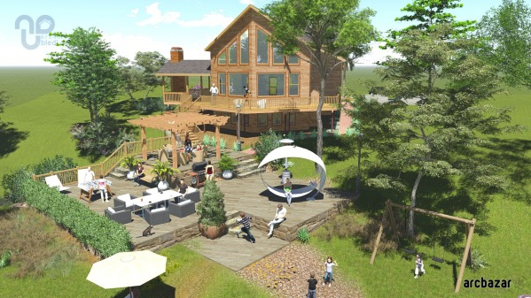 Image Cabin Landscape Design