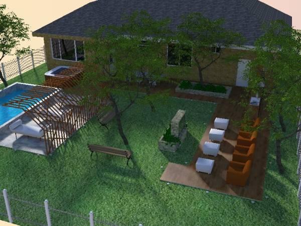 Image backyard transformation