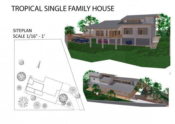 Image Tropical Single Family...