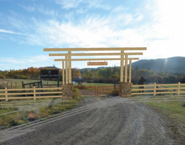 Image Ranch Entry Gate