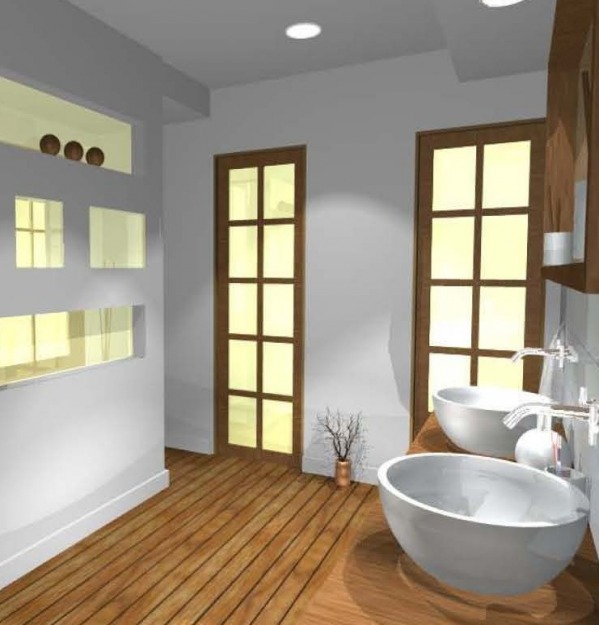 Image Asian/Zen Master Bath