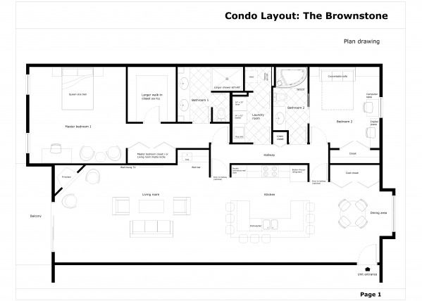 Image Condo Layout: The Brow...