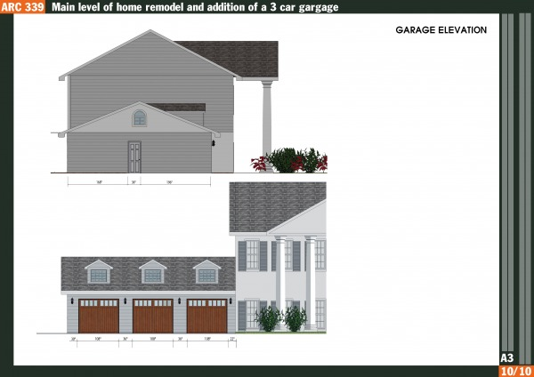 Image Remodel + 3-car Garage (2)
