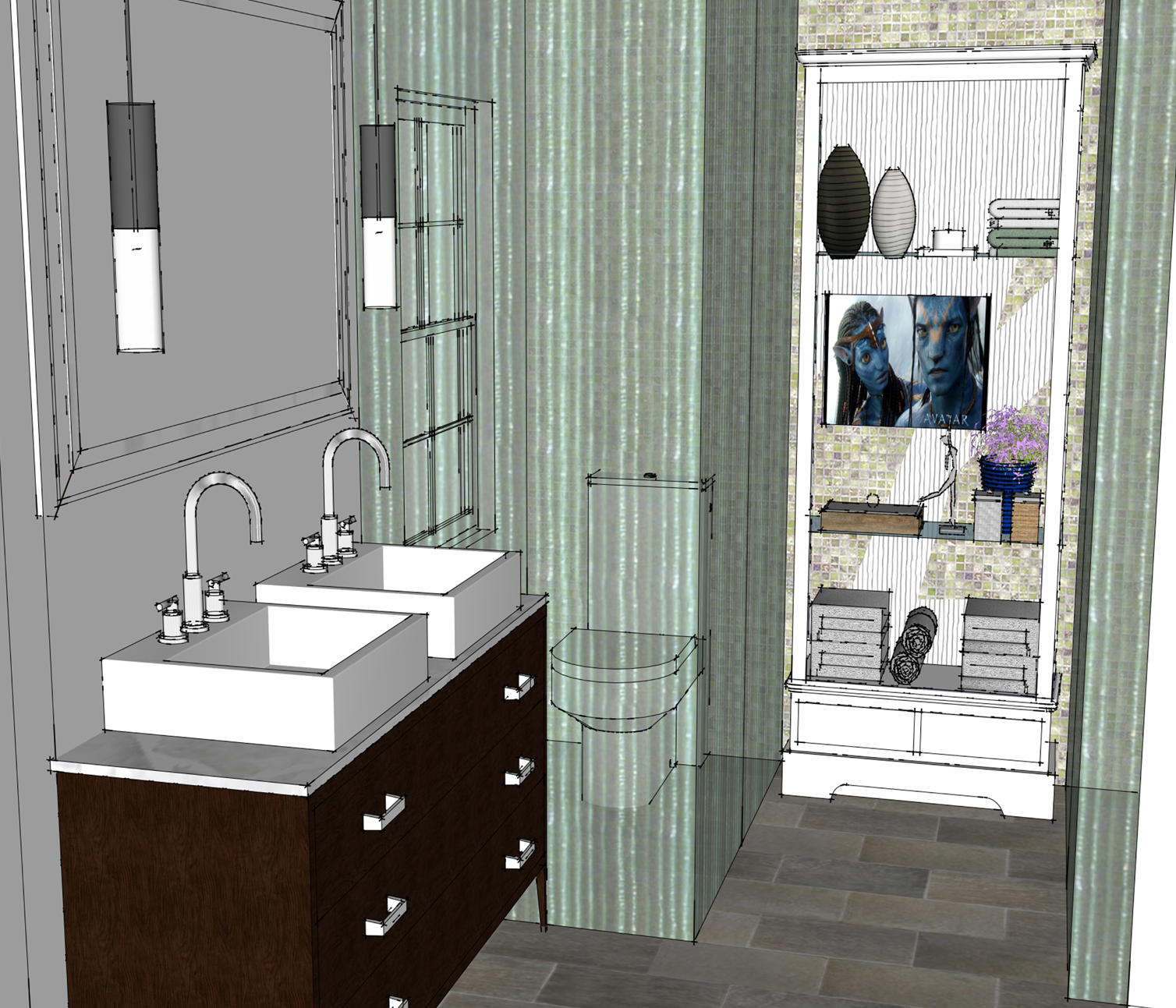 ViewDesignerProject ProjectBathroom Design