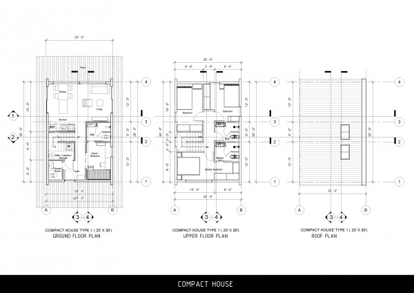 Image Compact House Plan - T...