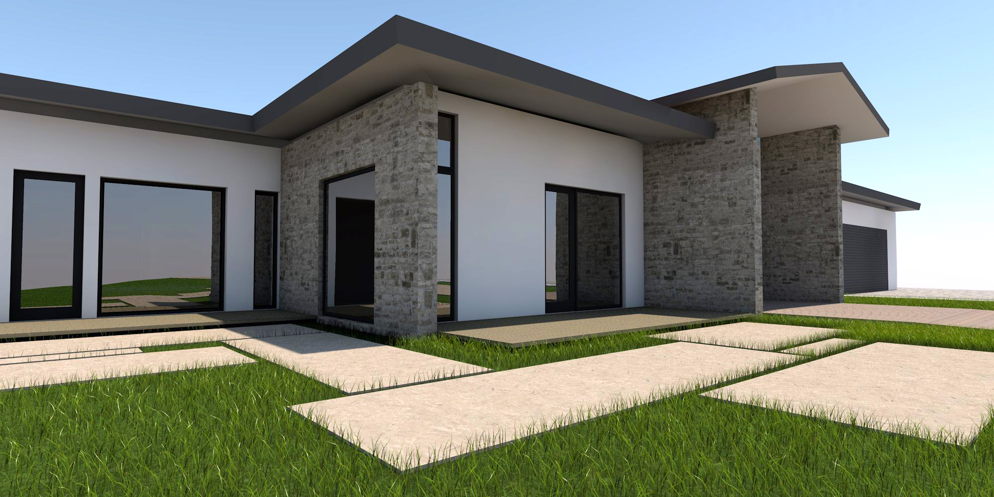 Single family homes design project designed by george for Modern single family homes