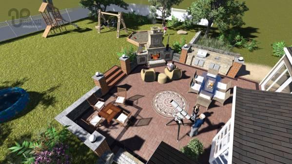 Image Backyard Patio & Firep...