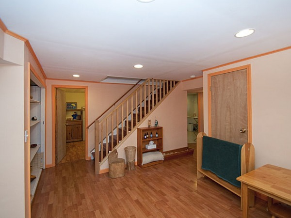 Image basement den area with...