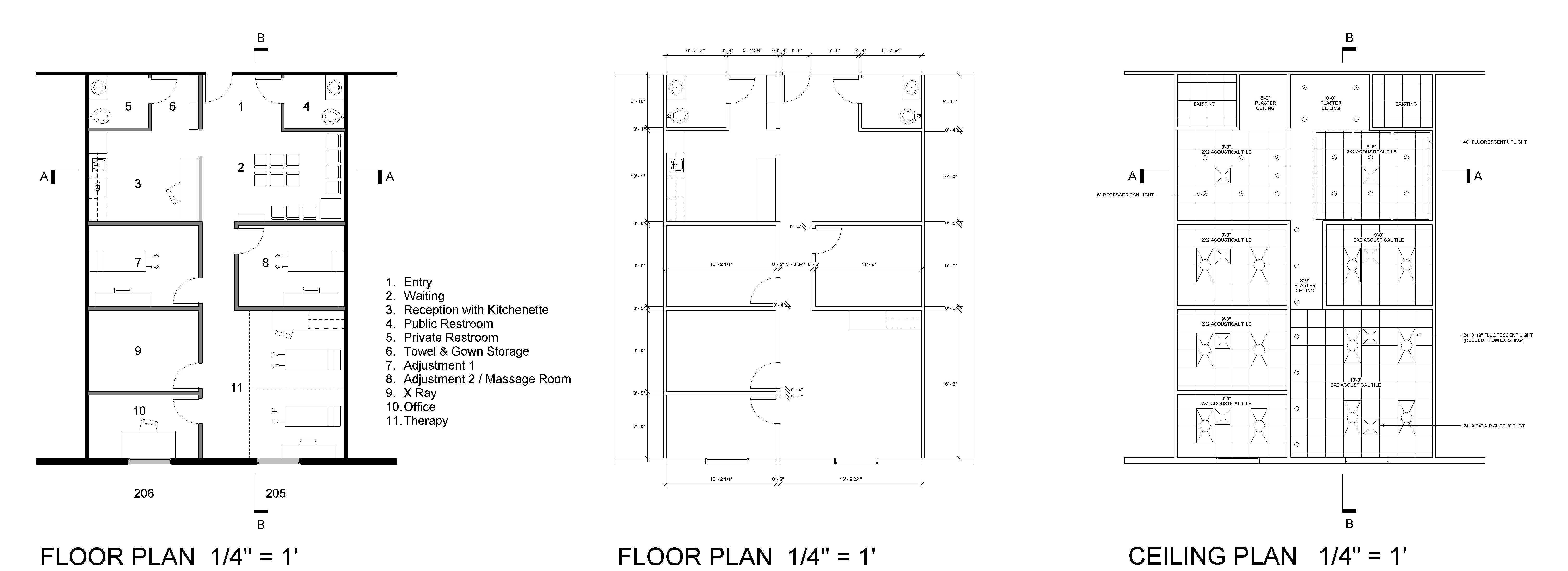 Chiropractic Office Floor Plans on Small Chiropractic Office Floor Plan