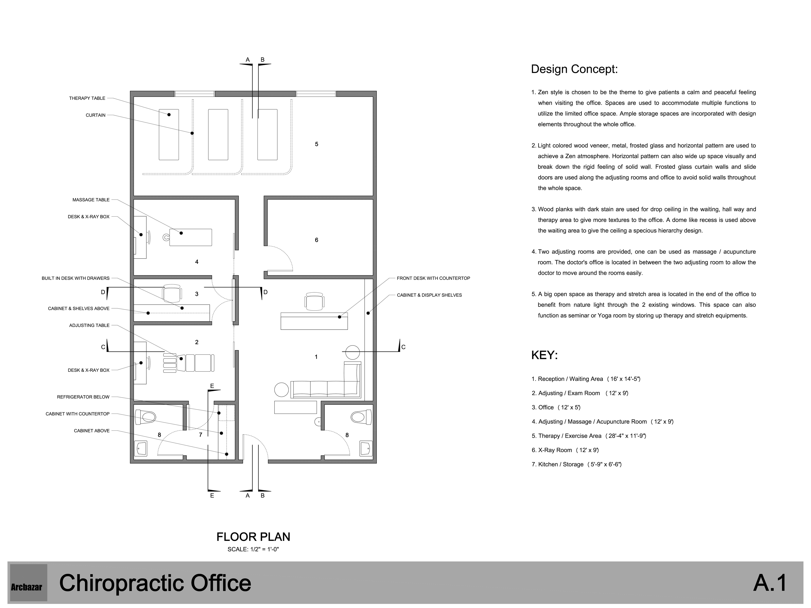 Chiropractic Office Layout Ideas Joy Studio Design