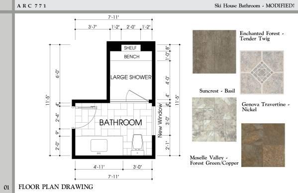 Image Ski House Bathroom - M... (1)