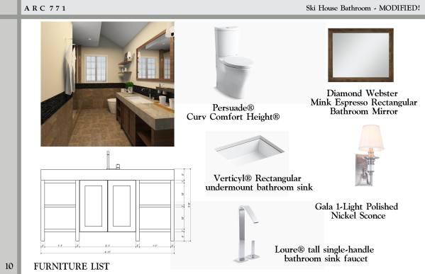 Image Ski House Bathroom - M... (2)