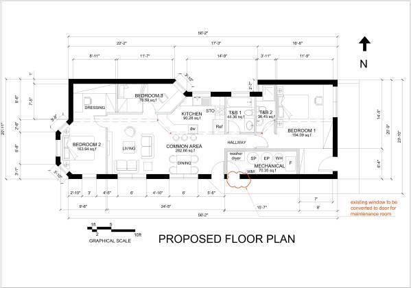 Propose Floor Plan