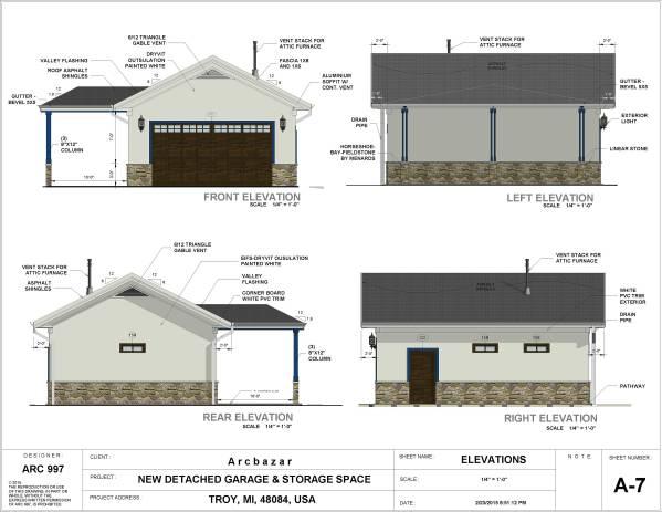 Image New Detached Garage & ... (2)