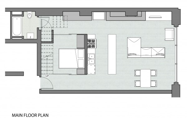 Image Main level floor plan