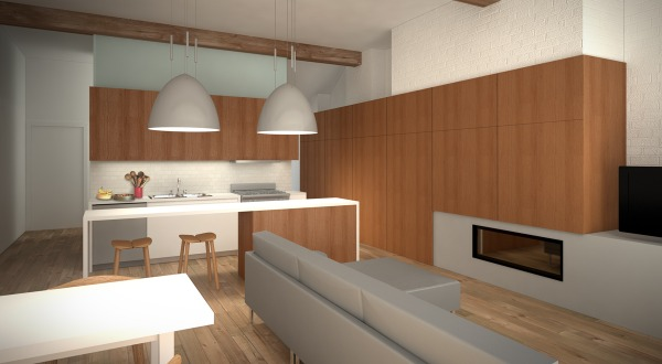 Image Interior perspective f...
