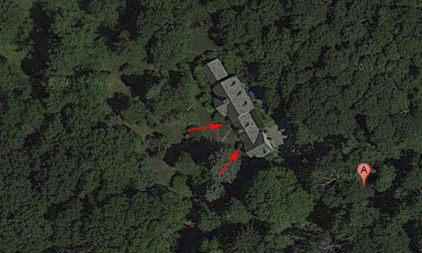 Image arial view of house sh...