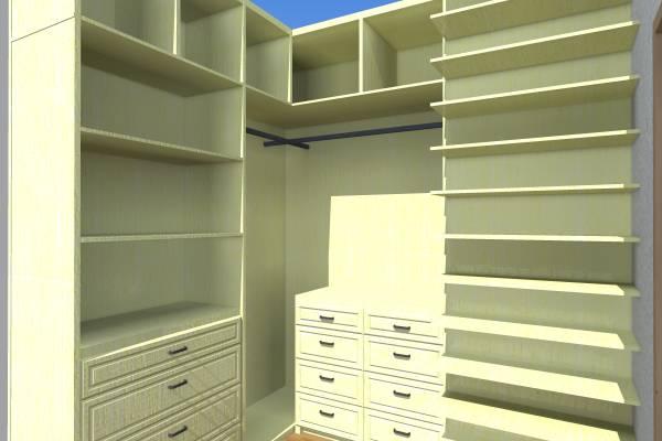 Image Tiny walk-in closet