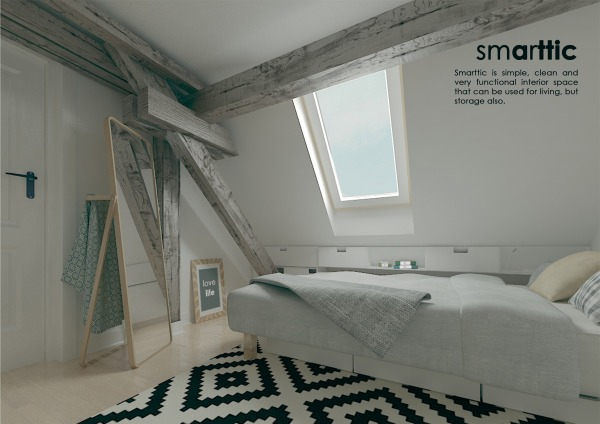 Image Turn attic room into f...