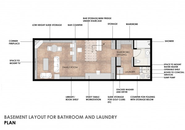 Image Basement Layout For Ba...